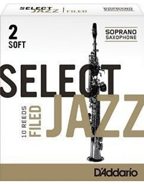 "DADDARIO(RICO) ""SELECT JAZZ / FILED "" 竹片 / SOPRANO高音 / 10入"