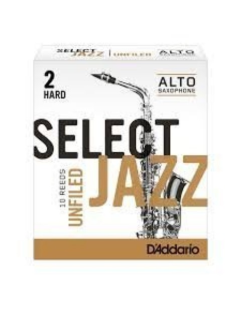 "DADDARIO(RICO) ""SELECT JAZZ / Unfiled "" 竹片 / ALTO中音 / 10入"