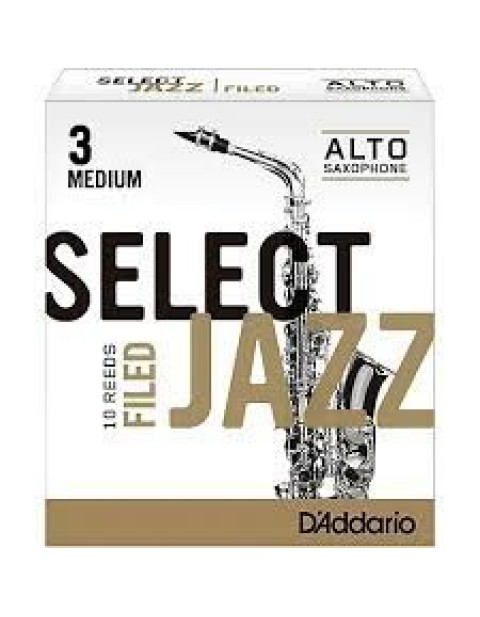 "DADDARIO(RICO) ""SELECT JAZZ / FILED "" 竹片 / ALTO中音 / 10入"